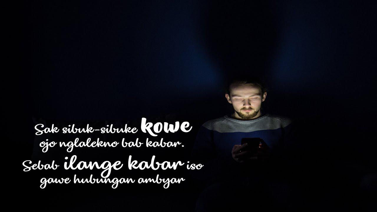 Caption Bahasa Jawa Terbaru 2018 16 Youtube
