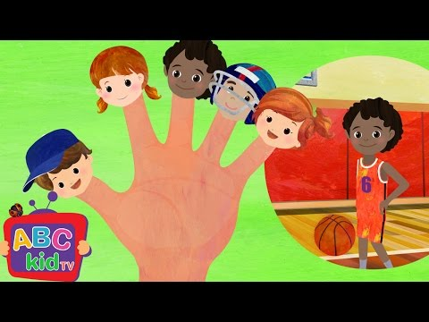 Finger Family - Sports | Nursery Rhymes & Kids Songs - ABCkidTV
