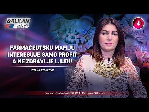 INTERVJU: Jovana Stojković - Farmaceutsku mafiju interesuje samo profit, a ne zdravlje! (11.2.2019)
