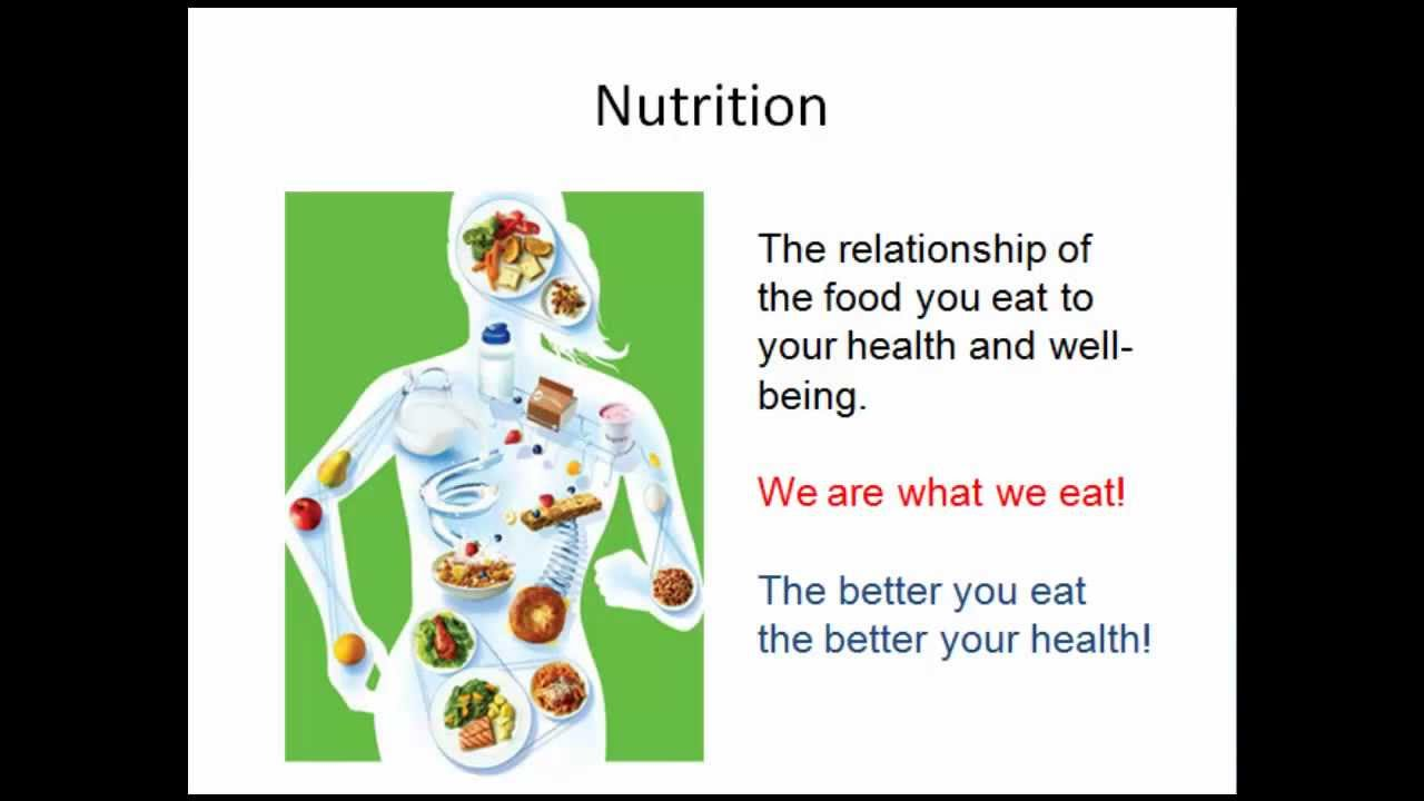Health: Nutrition Introduction - YouTube