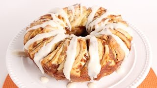 Pumpkin Pull Apart Bread Recipe - Laura Vitale - Laura in the Kitchen Episode 982