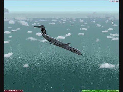 alaska airlines flight 261 air crash investigation