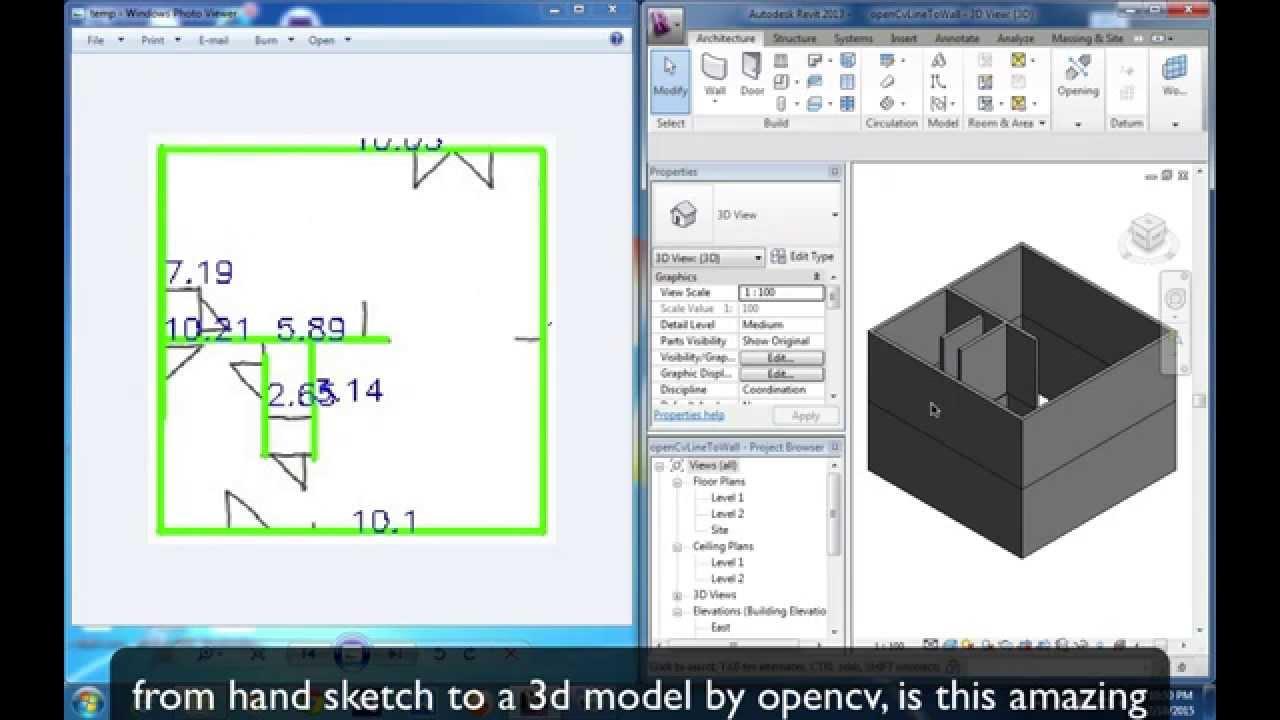 Opencv load 3d model
