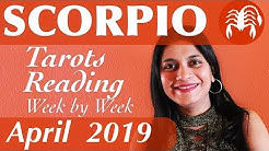 SCORPIO April 2019 Tarot reading forecast