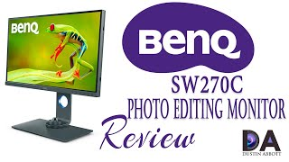 BenQ SW270C Photo Editing Monitor Review | 4K