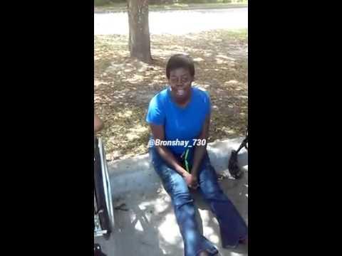 Homeless lady sings gospel songs and shocks us
