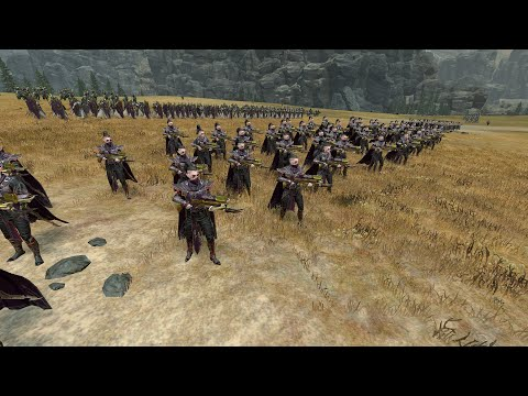 Total War: Warhammer 2 Battle - Dark Elves vs Tomb Kings -  Heroic Chariots Are Gud |