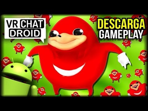 DESCARGA VR CHAT DROID - GAMEPLAY - PROYECTO INDIE FAN MADE BETA