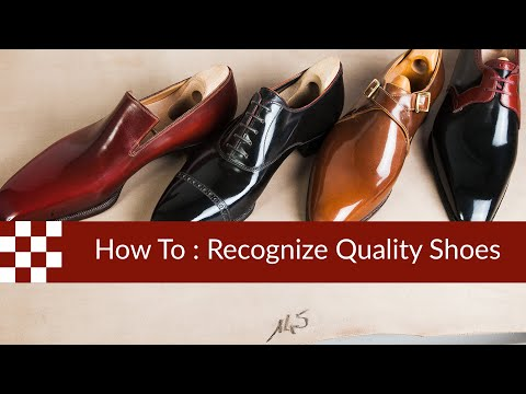 4 Things to Look for in a Pair of Quality Shoes