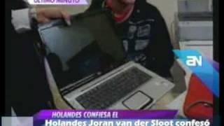 Holandés Joran van der Sloot confesó asesinato de Stephany Flores