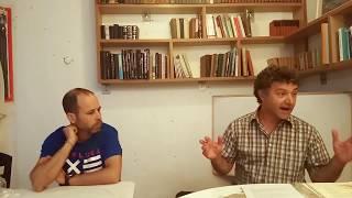 הגדה של פסח מזוית חילונית. שיחה עם אורן יהי-שלום