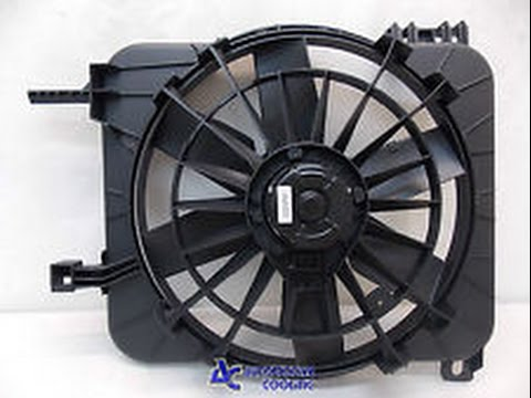 how to change radiator fan motor