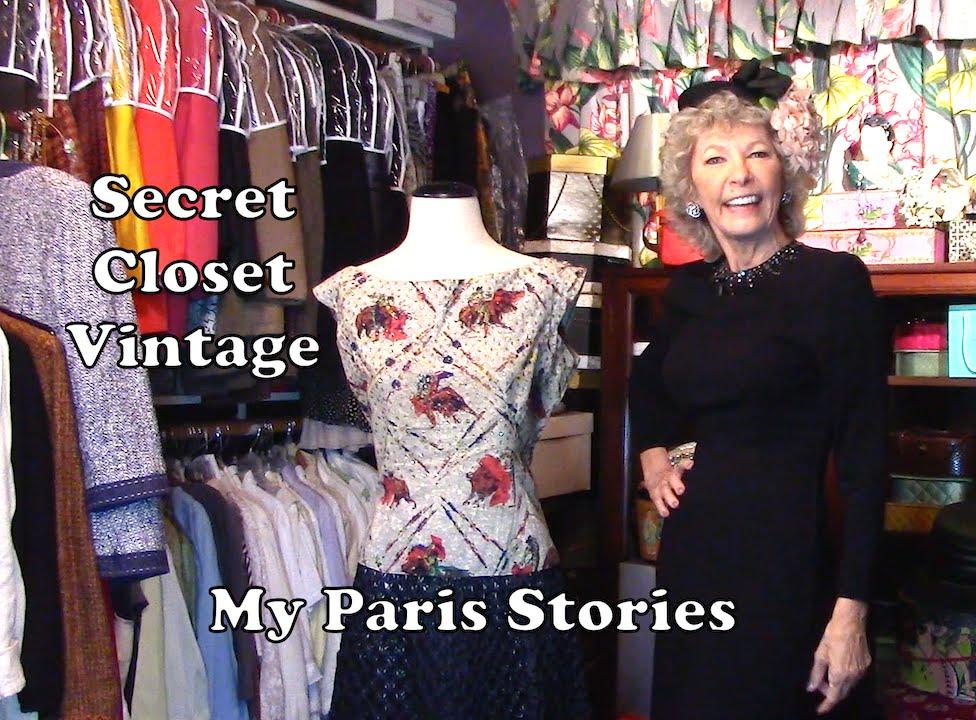 Get the Look: Secret Closet Vintage--Chic Paris Travel Dresses ...