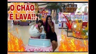 O CHÃO É LAVA NO SHOPPING!!!