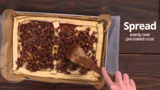 Pillsbury Salted Caramel Pecan Pie Bark
