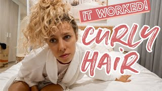 HOW TO GET CURLY HAIR AT HOME! I gave myself natural waves with NO heat *Easy & Life Changing*
