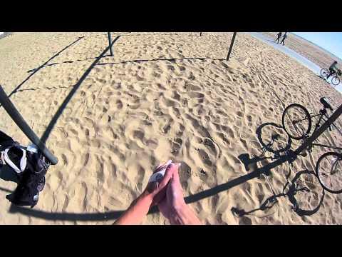 Continuous Laches at Santa Monica [Learn Parkour Now]