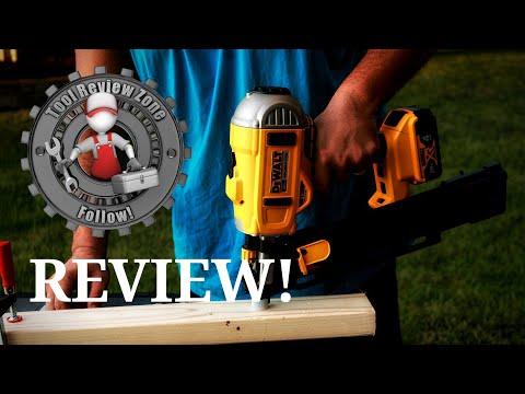 DEWALT 21 degree 20v Max XR Brushless Framing Nailer Kit REVIEW (DCN21PLM1)