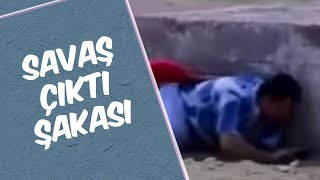 Mustafa Karadeniz - Savaş Çıktı Şakası