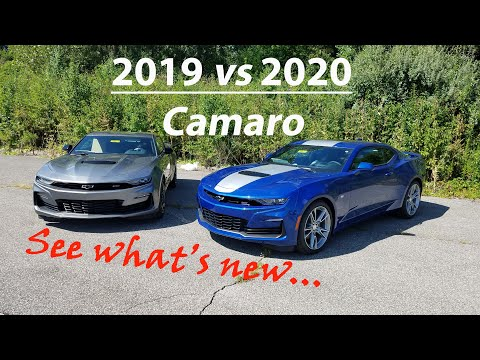 2019 Chevy CAMARO vs 2020 Chevy CAMARO - 4 BIG DIFFERENCES - Here is what's new!