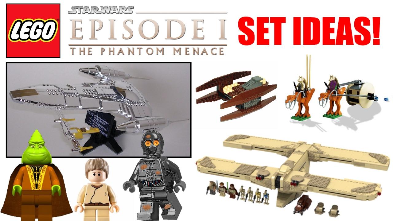 lego star wars episode 1 the phantom menace set ideas