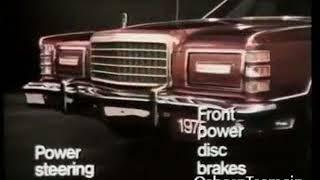 1975 Ford LTD Landau Commercial - With Hugh Downs