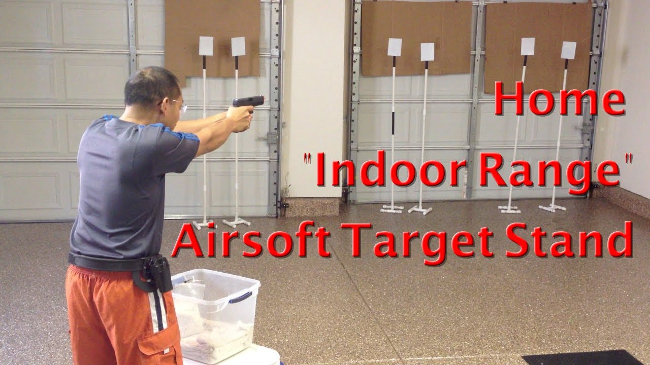Cheap Airsoft Target Stand by GunRunner411