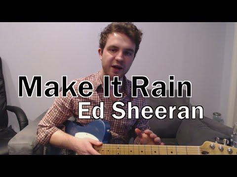 Make It Rain Ukulele Chords Ed Sheeran Khmer Chords