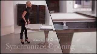 Tavolo Da Pranzo Allungabile Eclipse By Ozzio Design - Extendable Dining Table