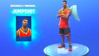 *NEW* JUMPSHOT/TRIPLE THREAT SKINS!! Fortnite Battle Royale