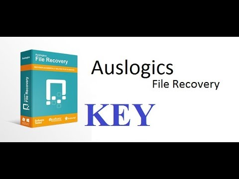 Auslogics File Recovery 8.0.9 +KEY  how to recover deleted files
