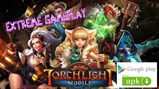 TORCHLIGHT : THE LEGEND CONTINUES ( ANDROID / IOS / MOBILE ) GAMEPLAY TRAILER [HD] APK HACK !