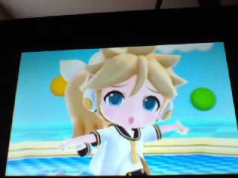 Project Mirai DX: Reverse Rainbow ( Len And Rin )