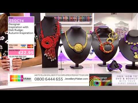 Learn How to Macramé & Make Macramé Jewellery [Tutorial]: Jewellery Maker DI 29/09/14