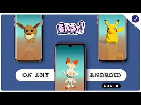 Pixel 4 Pokemon Live Wallpaper on Any Android | NO ROOT and NO TWRP