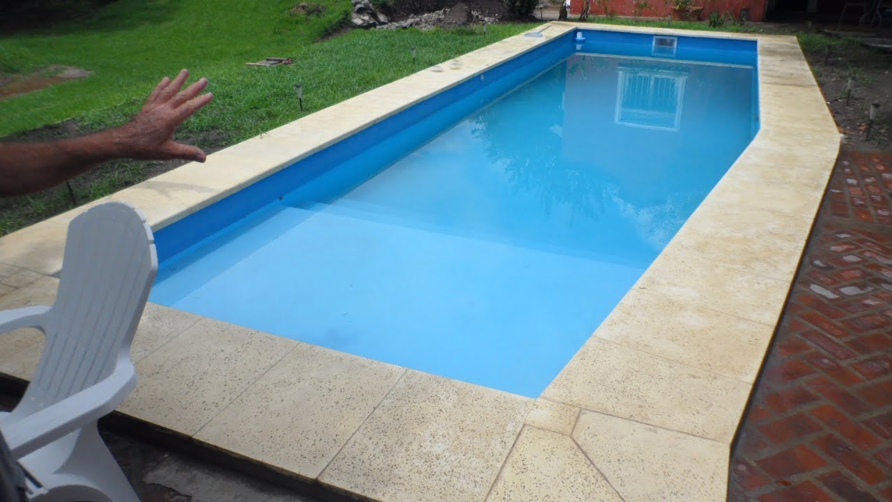 piscina 3 5 x 12 en merlo bs as youtube