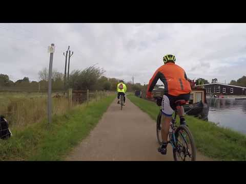 Cycling The Lee Valley And Grand Union Canals. Part 1 - The Lee Valley To Hertford