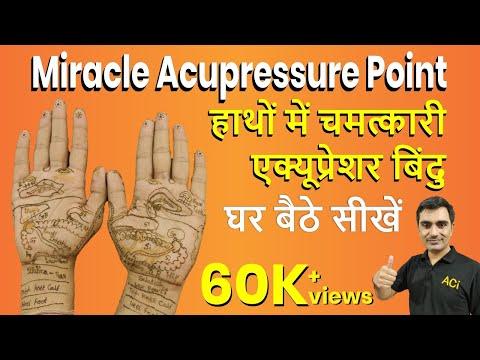 एक्यूप्रेशर हैंड रिफ्लेक्सोलॉजी Acupressure Hand Reflexology Training | Body Reflex Point on Palm