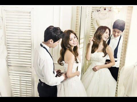 Wedding Dress Korean Couple - YouTube