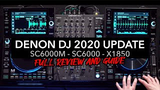 Denon DJ SC6000, SC6000M & X1850 Full Demo and Review