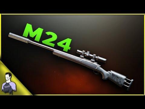 سلاح M24 الأسطوري 🔫 افضل قناص 👑 في ببجي موبايل ؟ | كل ما تريد معرفته و كيفية احتراف استعماله