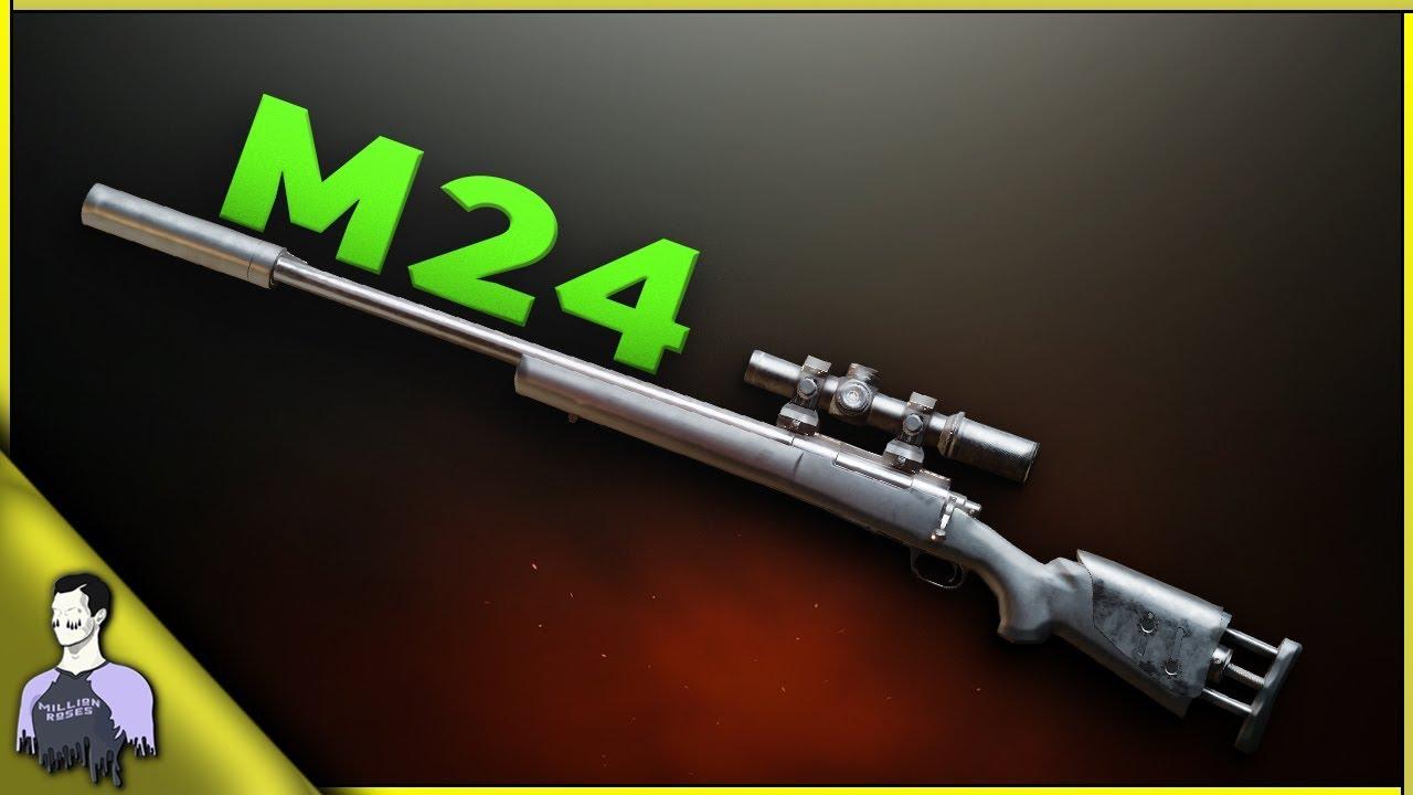 اماكن سلاح m24 ببجي