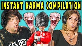 Baixar ADULTS REACT TO INSTANT KARMA COMPILATION