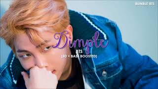 [3D+BASS BOOSTED] BTS (방탄소년단) - DIMPLE / ILLEGAL (보조개) | bumble.bts