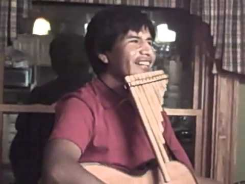 Jos� from Peru sings This Land is Your La