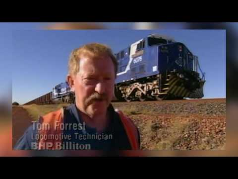 From the Archives: World Record breaking train (2001)