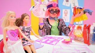 Работа для Полен - Стилист - Видео для девочек с Барби
