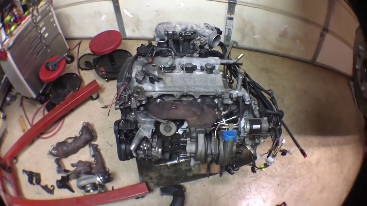 Diy How To Make 3sgte Gen4 Fit Into Toyota Mr2 Turbo Sw20 Youtube Ra24 Celica Wiring Diagram