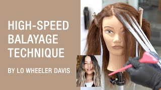 HighSpeed Balayage Technique by Lo Wheeler Davis | Kenra Color