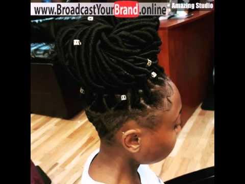 Bulky Bun With Undercut For Black Women